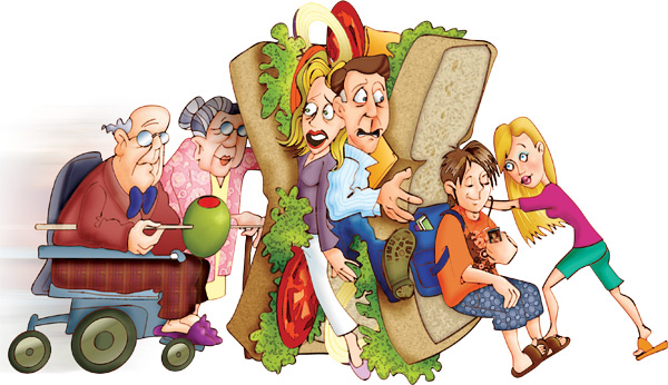 "The ""Sandwich Generation""… do you recognize yourself?"